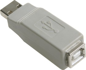 Фото 1/2 USB A(M)-B(F) переходник