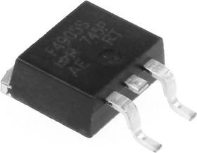 Фото 1/3 IRF4905SPBF, Транзистор, P-канал 55В 74А [D2PAK]