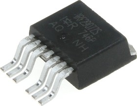 Фото 1/3 IRF2907ZS-7PPBF, Транзистор N-канал 75В 160А, [D2-Pak-7]