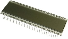 Фото 1/2 ITS-E0806SFNP, сегментный ЖКИ 8 разр. (ITD018A)