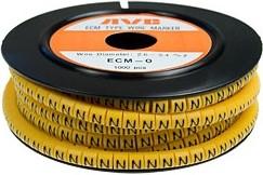 "ECM-0-R ""N"", Маркировка кабельная, 1000шт"
