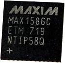 Фото 1/2 MAX1586CETM, монитор питания Ind THNQFN48