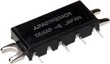 Фото 1/2 RA07M3340M-101, 330-400 MHz 7W 7.2V