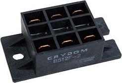 Фото 1/2 B512F-2, 25A/240V диодно-тиристорный модуль