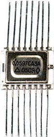 597СА3А никель (00-05г), Сдвоенный маломощный компаратор напряжения