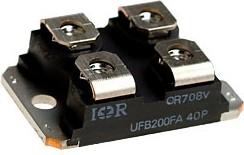 VS-UFB200FA40P, 2 Ультрабыстрых диода 2x200А 400В [SOT-227]