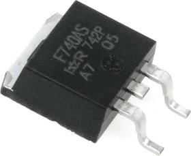 Фото 1/2 IRF740ASPBF, Транзистор, N-канал 400В 10А [D2-PAK]