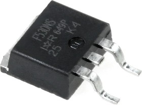 Фото 1/5 IRF530NSPBF, Транзистор, N-канал 100В 17А [D2-PAK]