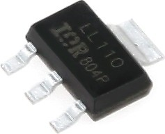 Фото 1/2 BSP75N, Транзистор, HITFET, N-канал 60В 700мА 500мОм [SOT-223]