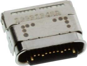 124019372112A, USB CONN, 3.1 TYPE C, RCPT, 24POS, SMT