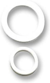 Фото 1/2 PXP4089/WH, O RING & WASHER, WHITE, CIRCULAR CONN