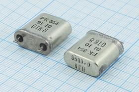 Фото 1/2 кварцевый резонатор 6.5МГц с большим кристаллом в корпусе БВ, 6500 \БВ\\\\РК354БВ\1Г