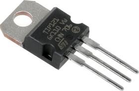 Фото 1/3 TIP121, NPN составной (Дарлингтон) транзистор, линейные и импульсные регуляторы напряжения, [TO-220]