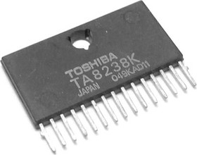TA8238K, Двухканальный усилитель НЧ 7.3Вт