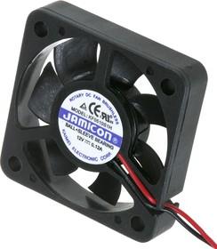 KF0510S1H, Вентилятор 12В, 50х50х10мм, подшипник скольжения