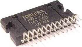 TA8272H, Мостовой четырехканальный усилитель мощности, 4 х 43Вт, 4 Ом, 20…20000Гц