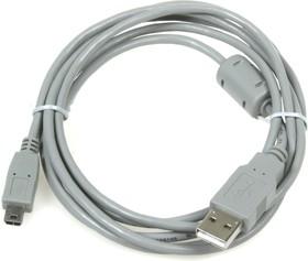 BW1420, Шнур мультимедийный USB2.0 A вилка - Mini USB B(5P) вилка, 1.8м