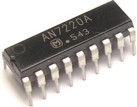 AN7220A, AM/FM тюнер, радиоприемники