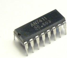 AN7411, FM стерео мультиплексор и демодулятор, индикация настройки