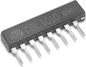DBL1010, Двухканальный предварительный усилитель, 7В…18В, 8мА, 70дБ