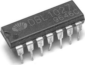 DBL1027, Двухканальный предварительный усилитель с автоматическим контролем уровня сигнала, 5В…13В, 600мВт