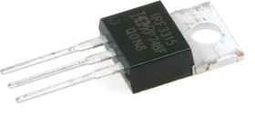 Фото 1/3 IRF3315PBF, Транзистор, N-канал 150В 27А [TO-220AB]