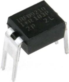 IRFD9210, P MOSFET -200В -0.4А защ