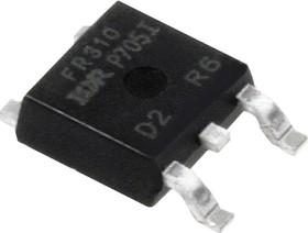 Фото 1/3 IRFR310PBF (IRFR310TRPBF), Транзистор, N-канал 400В 1.7А [D-PAK]