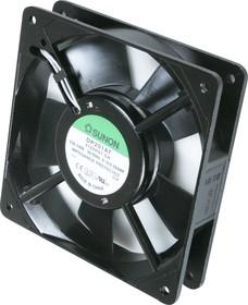 DP201AT/2122HST.GN (JA1225H2S(S22H)), Вентилятор 220В, 120х120х25мм, подшипник скольжения 2550 об/мин