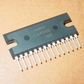 LA4440, Усилитель мощности в двухканальном и мостовом исполнении, 2 х 6Вт/19Вт, 13.2В, 4 Ом/8 Ом
