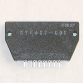 STK402-090, Двухканальный аудиоусилитель, [SIP-15]