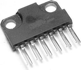 TA7281P, Усилитель мощности звука, в стерео режиме 2 х 5.8Вт, в мостовом режиме 22Вт, 9…18В, 20…20000Гц
