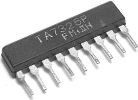 TA7325P, Двухканальный предварительный усилитель, 7В…18В, 5.5мА, 15…30000Гц