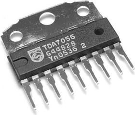 TDA7056/N2.112, Монофонический аудиоусилитель 3Вт, 3В…18В, 20…20000Гц, [SIL-9P]
