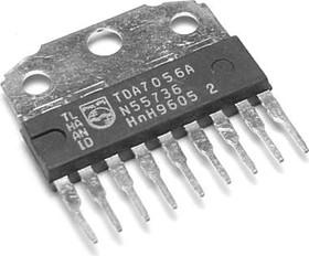 TDA7056A/N2.112, Монофонический аудиоусилитель с мостовым включением нагрузки, 3Вт, 3В…18В, 20…20000Гц [HSIP-9]