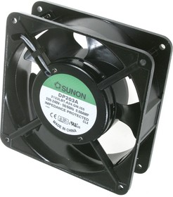 DP203A/2123LBT/A24, Вентилятор 220В, 120х120х38, подшипник качения 2000 об/мин