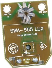 SWA555, Усилитель антенный, 28-34 дБ, ток потребления 29 мА