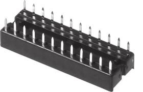SCS-24 (DS1009-24AN), DIP панель 24 контакта узкая