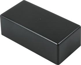 Фото 1/3 G1033BA, Корпус для РЭА 129х64х41.9мм, пластик, черный, алюминиевая панель