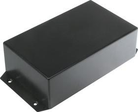 Фото 1/3 G1024BF, Корпус для РЭА 185.7х95.5х53мм, пластик, черный с крепежным фланцем