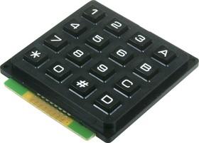 AK-1604-N-BBW, Клавиатура