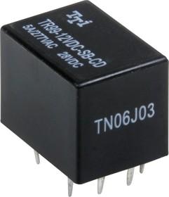 TR99-12VDC-SB-CD, Реле 2пер. 12V / 5A, 28VDC