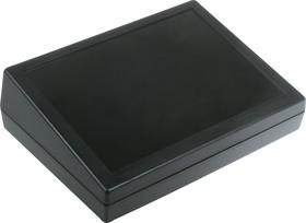 Фото 1/2 G1183B, Корпус для РЭА 189х134х32/54мм, пластик, черный