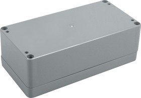Фото 1/3 G368, Корпус для РЭА 160х80х55 мм, пластик, темно-серый