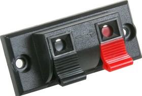 Фото 1/2 CH1-0401B (MPT-261) (PT-2A) (KLS1-WP-2P-03A), Клеммник нажимной 2 контакта