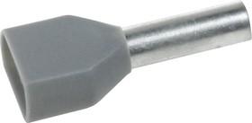 CT240012 (DTE04012), Наконечник для многожильного кабеля серый