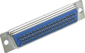 Фото 1/2 DB-50F (DS1033 50F), Гнездо 50 pin на кабель (пайка)