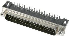 Фото 1/3 DRB-37MA (DS-1037 - 37 - M), Вилка 37 pin на плату 7.2мм