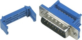 Фото 1/4 DI-15M (DS1036-15M), Вилка 15 pin на шлейф