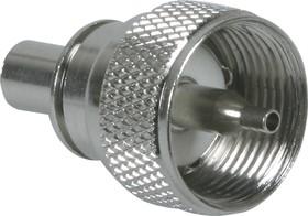 HYR-0602A (UHF-7502A) (GU-602), Разъем UHF, штекер RG-58, обжим (Crimp)